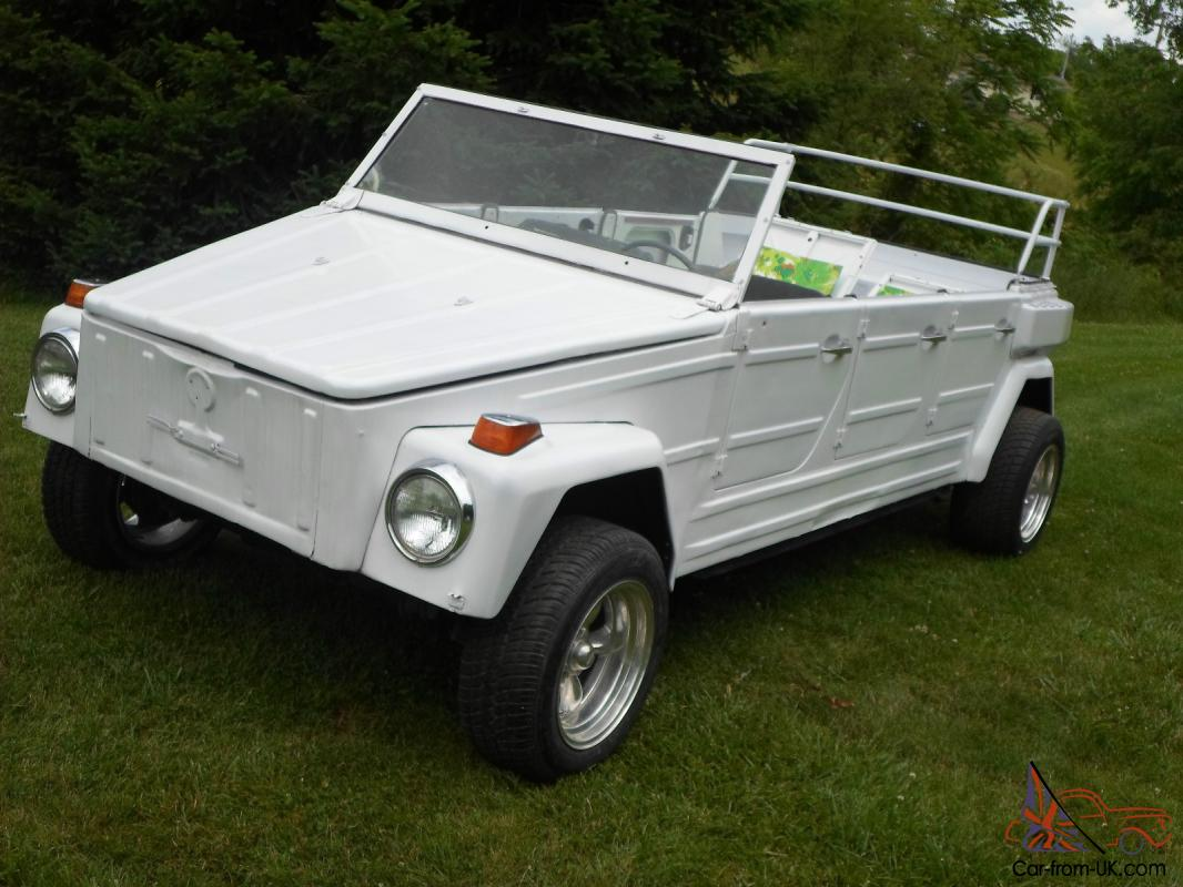 74 Volkswagon Vw Thing 6 Door Limo 1 Of Two Safari Project Rare Rat Rod Type 181