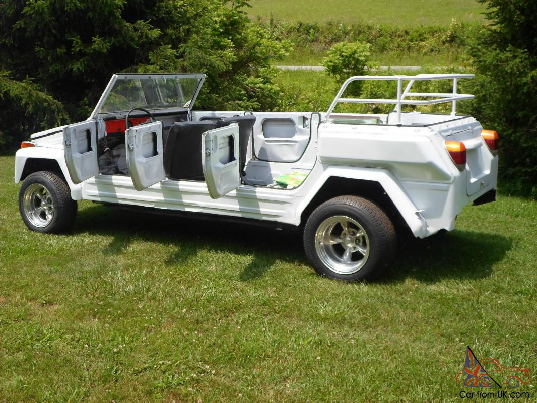 Volkswagen Thing For Sale >> 74 Volkswagon Vw Thing 6 Door Limo 1 Of Two Safari Project Rare Rat Rod Type 181