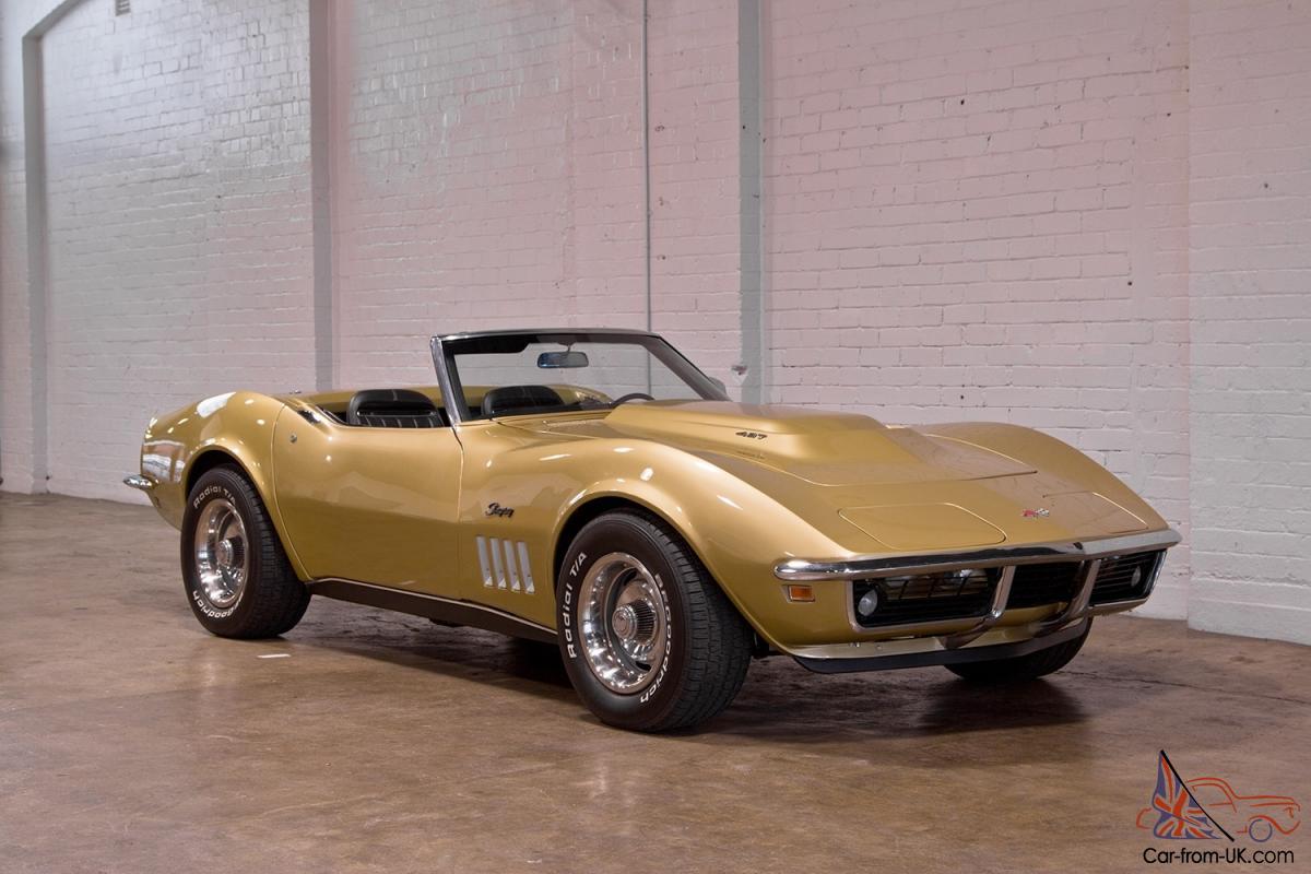 Corvette 1970 chevrolet corvette stingray : Chevrolet Corvette Stingray Convertible 1969 2D Roadster 4 SP ...