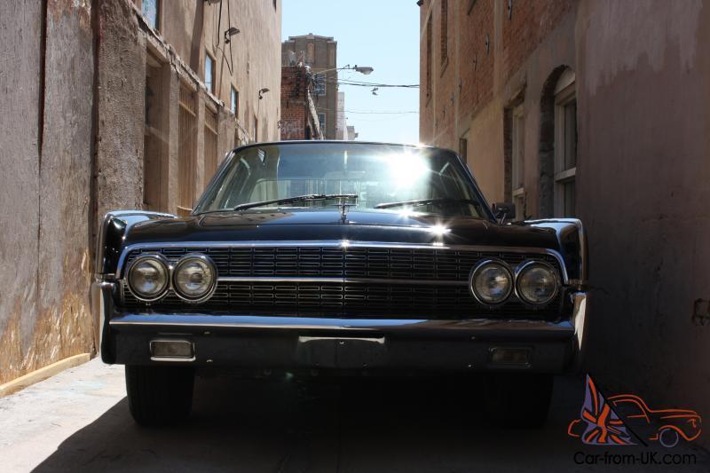 1962 Lincoln Continental Ca Car Rare Presidential Model All Options 61 63 64 65