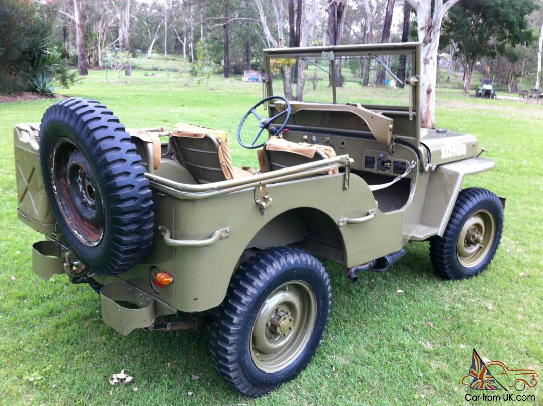 Willys Jeep For Sale >> 1943 Willys Mb Ww2 Army Jeep Gpw