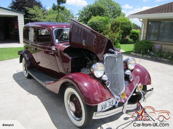 Ford 1933 4 Door Sedan Nz