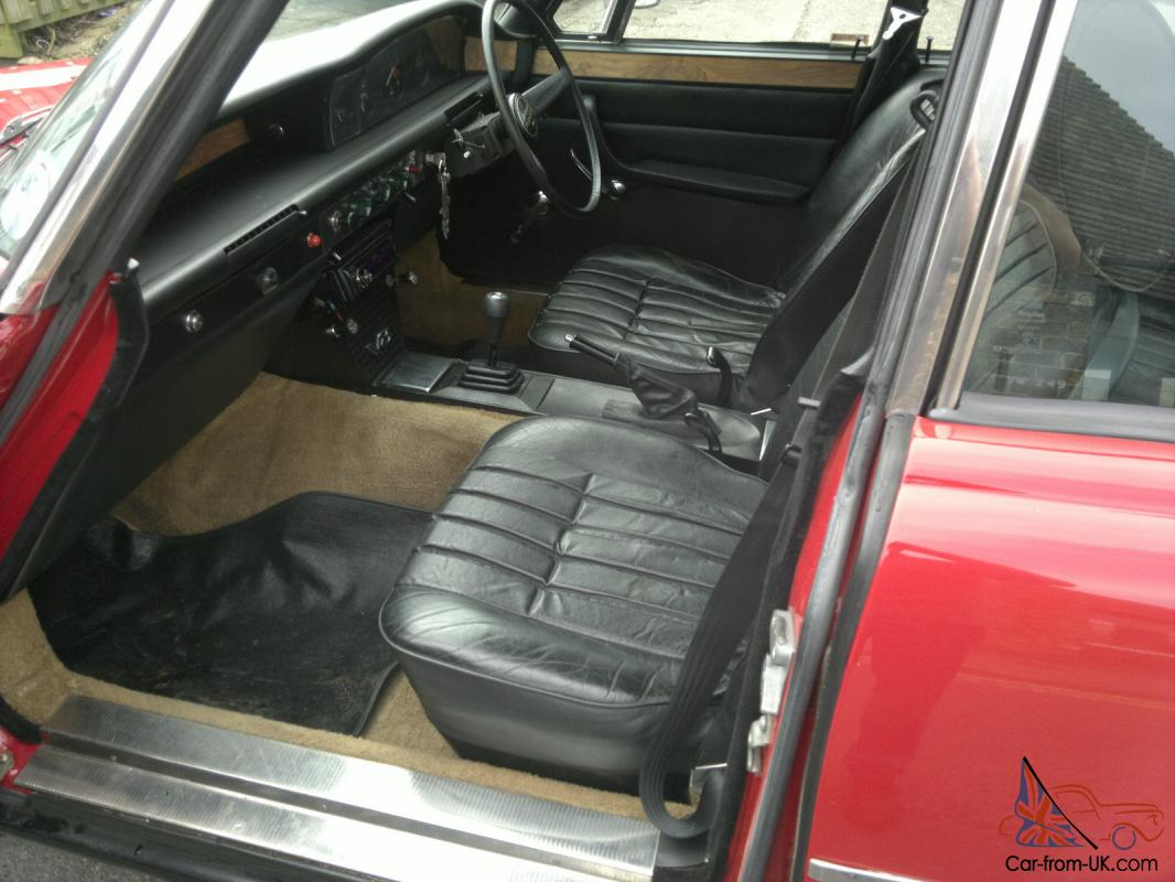 1974 Rover P6 3500 Monza Red