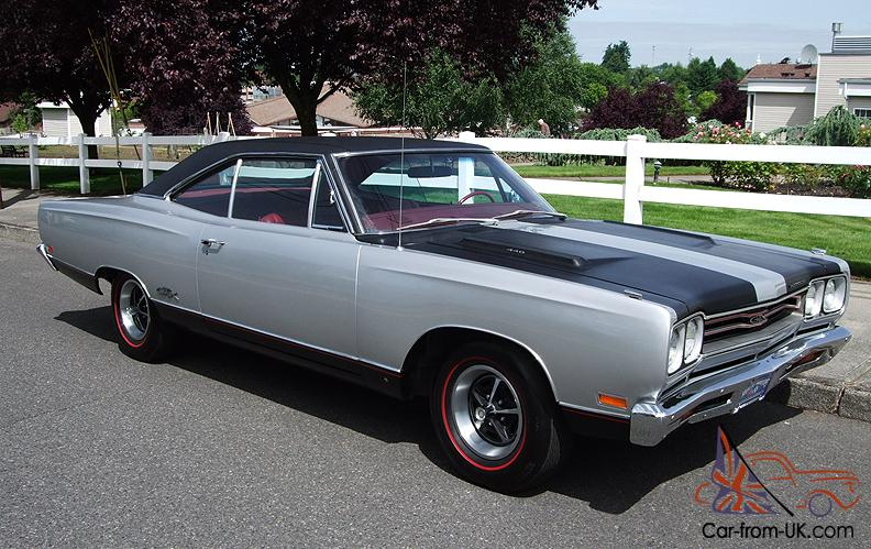 1969 Plymouth Gtx 440 375 Hp Numbers Match Galen Govier