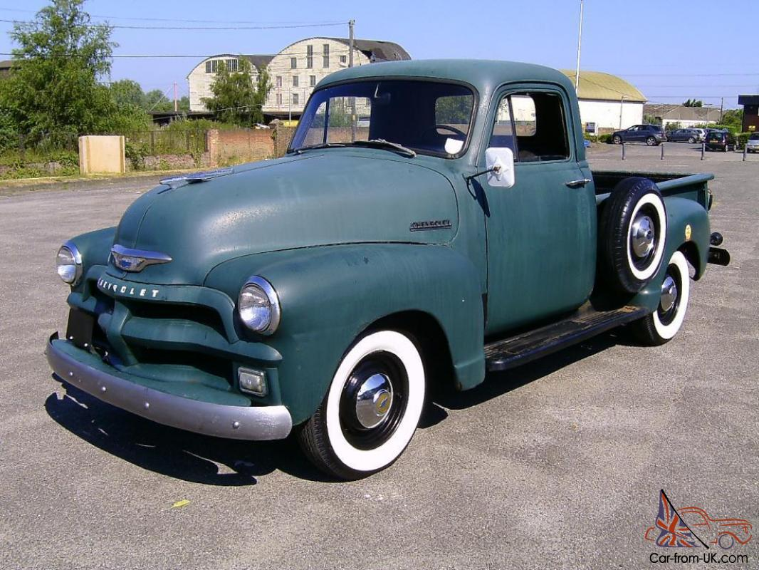 1954 Chevrolet 3100 Pick Up Truck Chevy Pickup