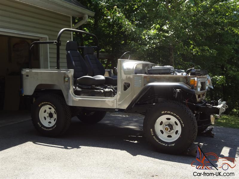 1978 Toyota Land Cruiser FJ40 Hardtop Restoration in Progress
