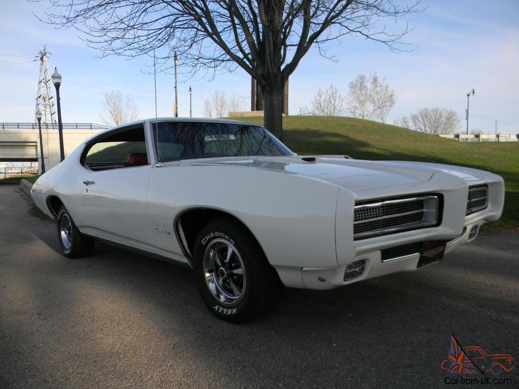Pontiac Gto 1969 Matching Numbers 400 Motor Auto Pwr Str Pwr Disc Brakes