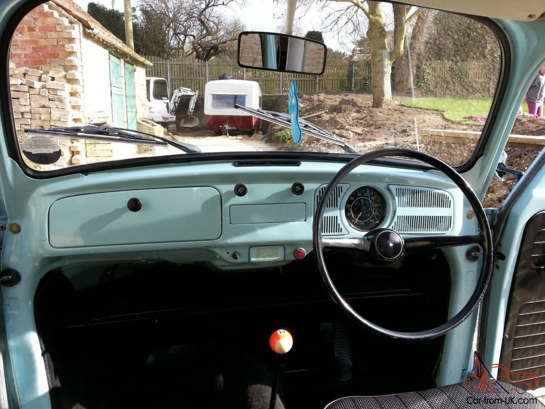 Classic 1972 Volkswagen Beetle 1200cc Tax Exempt Cheap Insurance First Car