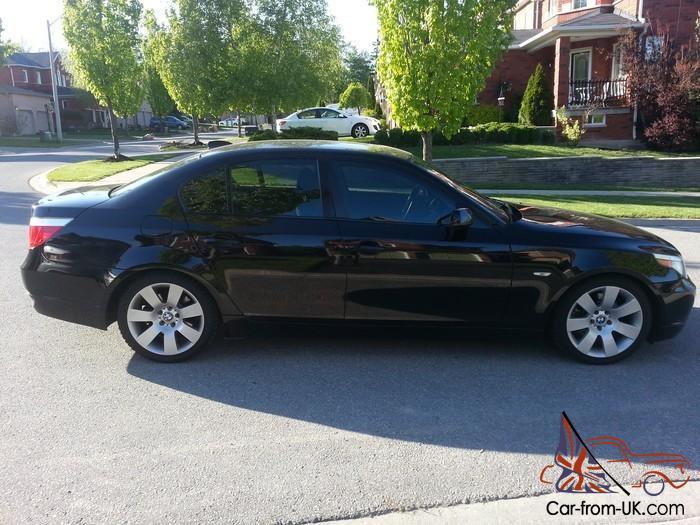 Bmw 530i 5 Series Sports Package Alloy Wheels Black On Black Mint