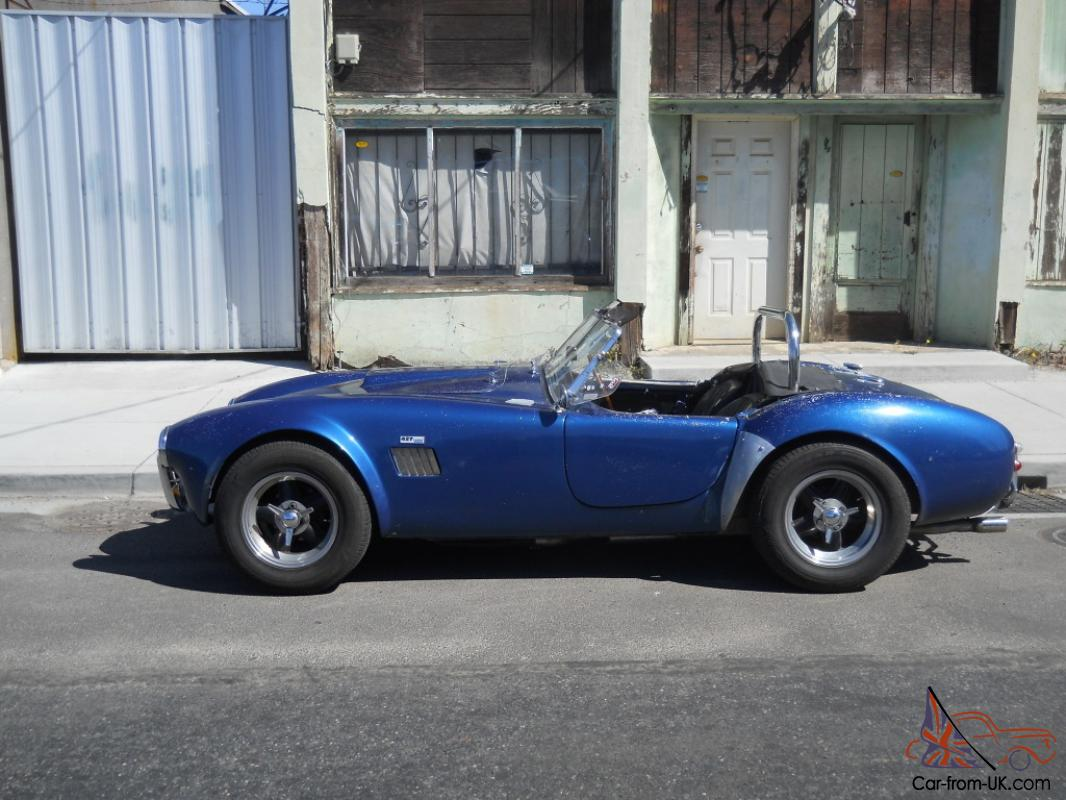 Cobra Kit Car >> Shelby Ac Cobra Unrestored British Factory Built Rhd Not A Kit Car Replica