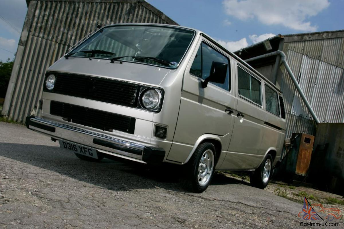 Magazine featured VW type 25 /T3 caravelle camper