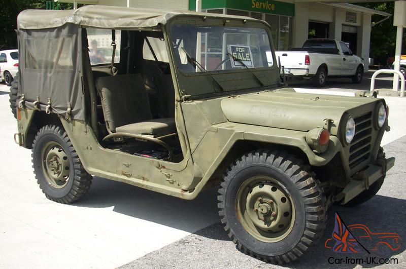 Military Jeep For Sale >> 1972 Military Jeep M151a2 Ford Mutt Excellent Condition Museum Ready 4x4