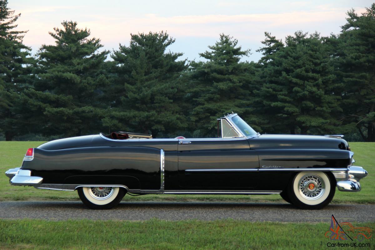 1953 Cadillac Series 62 Convertible 55k Original Miles Rare Collector No Reserve