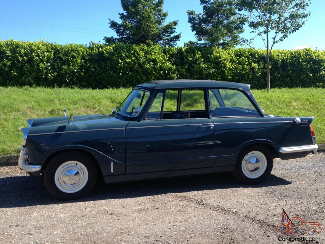 Triumph Herald 12  50  Full Restoration Totalling