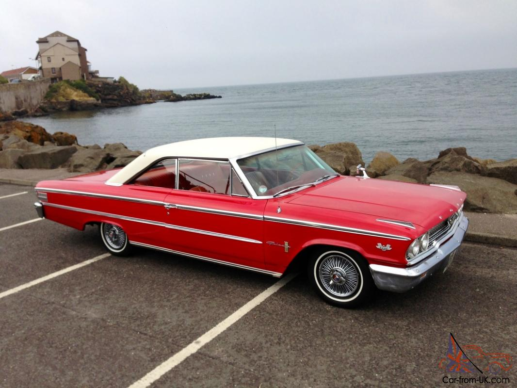 1963 Ford Galaxie 500 Red Stunning Condition Inside And Out