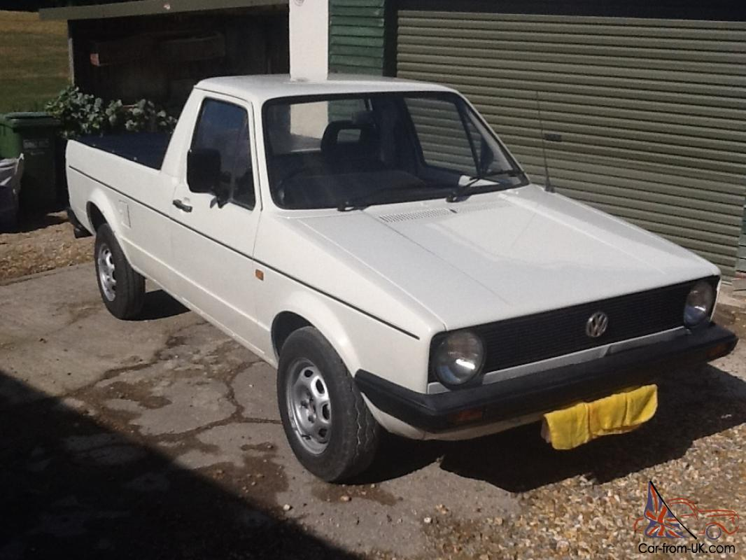 Volkswagen Caddy Pickup Mk1 For Sale