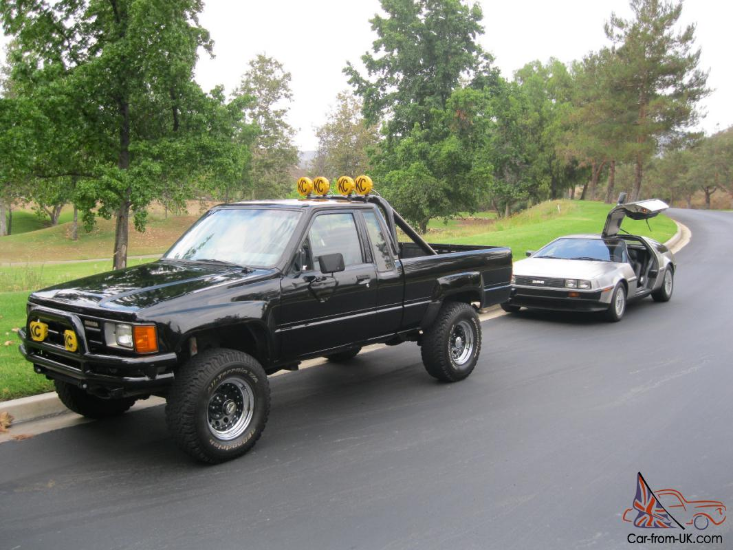 Back To The Future Marty Mcfly 1985 Toyota Pickup 4x4