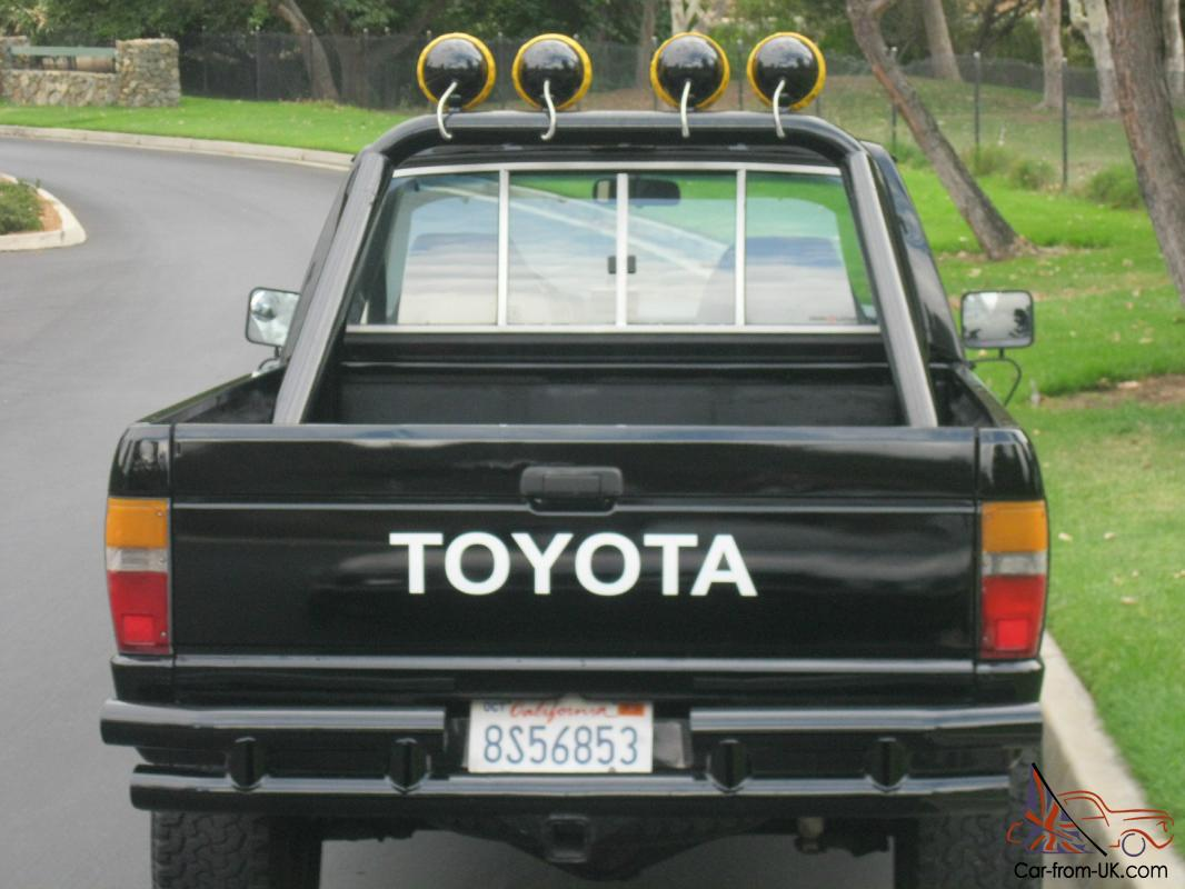 Back To The Future Marty Mcfly 1985 Toyota Pickup 4x4 85 Radio Wiring