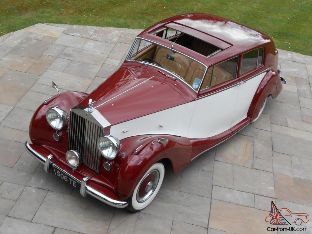 1951 Rolls Royce Silver Wraith H J Mulliner Touring Limousine