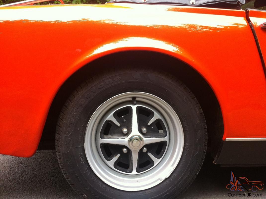 1972 MG Midget, Round Wheel Arch, 1275cc For Sale   Car