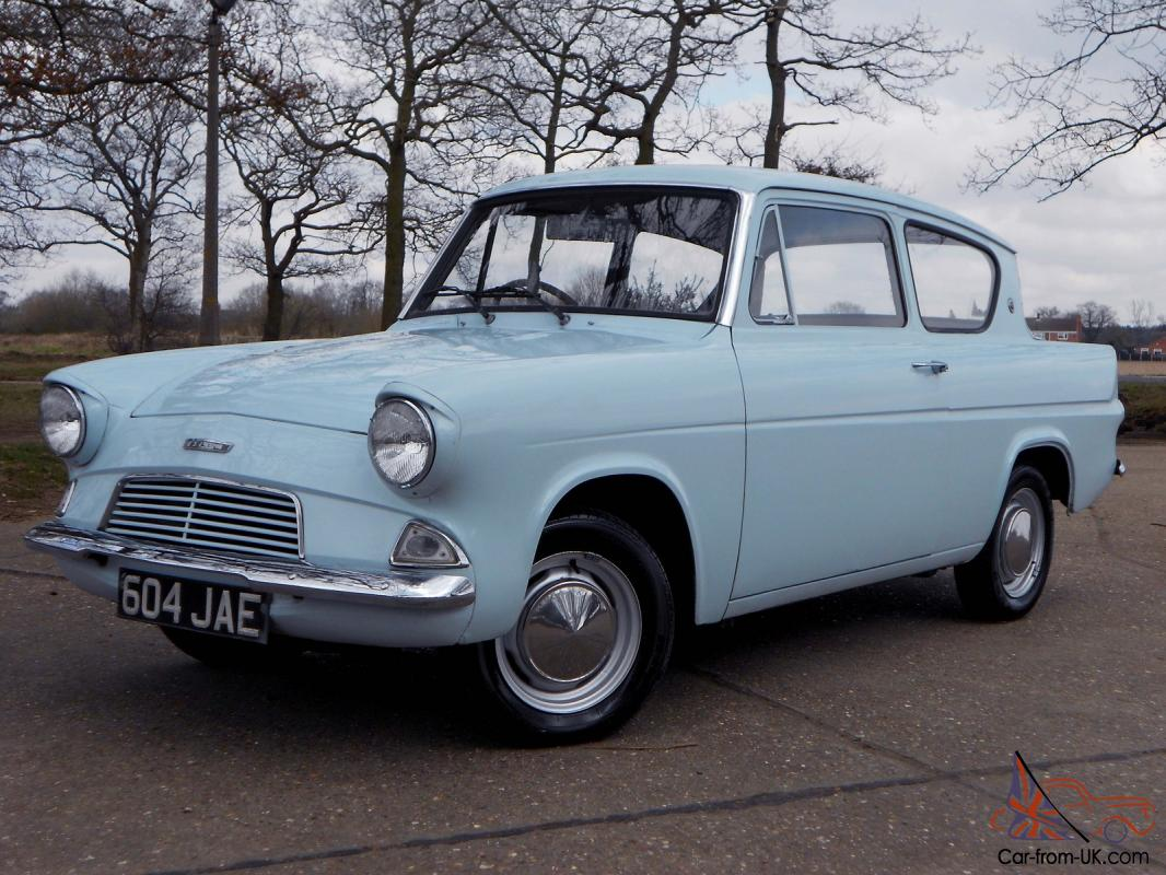 Ford Anglia 105 Saloon Blue Ebay Motors 300940156854