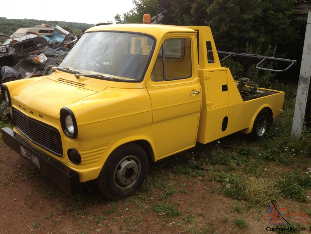 1972 Mk1 Ford Transit Recovery Truck Historic Vehicle 1955 F100 Value Photo