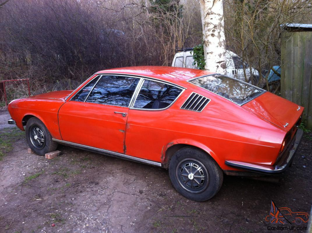 1971 AUDI 100 Coupe S very rare early model Twin Carb ...