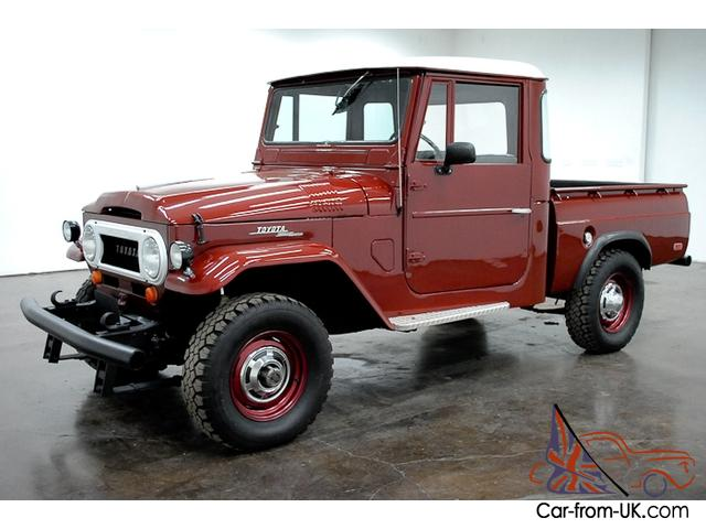 Excellent 1965 Toyota Fj Pickup 4X4 6 Cylinder 4 Speed Manual Bench Seat Have To See This Pabps2019 Chair Design Images Pabps2019Com