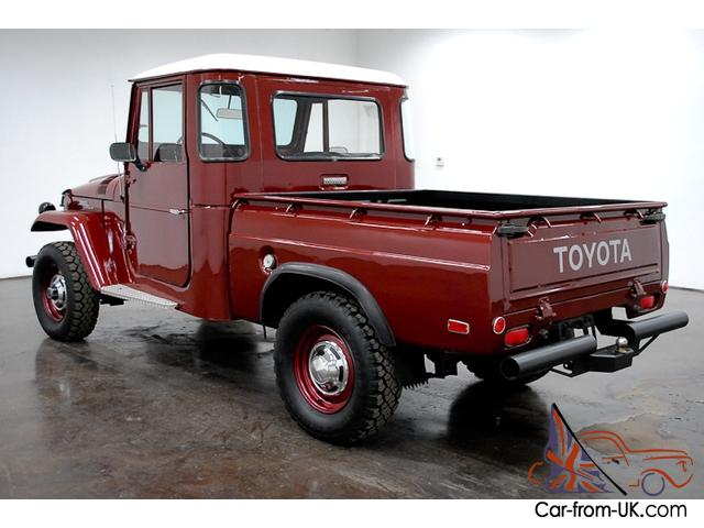 Pleasing 1965 Toyota Fj Pickup 4X4 6 Cylinder 4 Speed Manual Bench Seat Have To See This Pabps2019 Chair Design Images Pabps2019Com