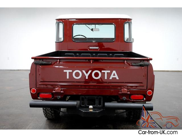 Marvelous 1965 Toyota Fj Pickup 4X4 6 Cylinder 4 Speed Manual Bench Seat Have To See This Pabps2019 Chair Design Images Pabps2019Com