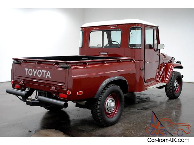 Astounding 1965 Toyota Fj Pickup 4X4 6 Cylinder 4 Speed Manual Bench Seat Have To See This Pabps2019 Chair Design Images Pabps2019Com
