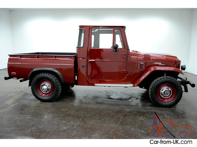 Enjoyable 1965 Toyota Fj Pickup 4X4 6 Cylinder 4 Speed Manual Bench Seat Have To See This Pabps2019 Chair Design Images Pabps2019Com