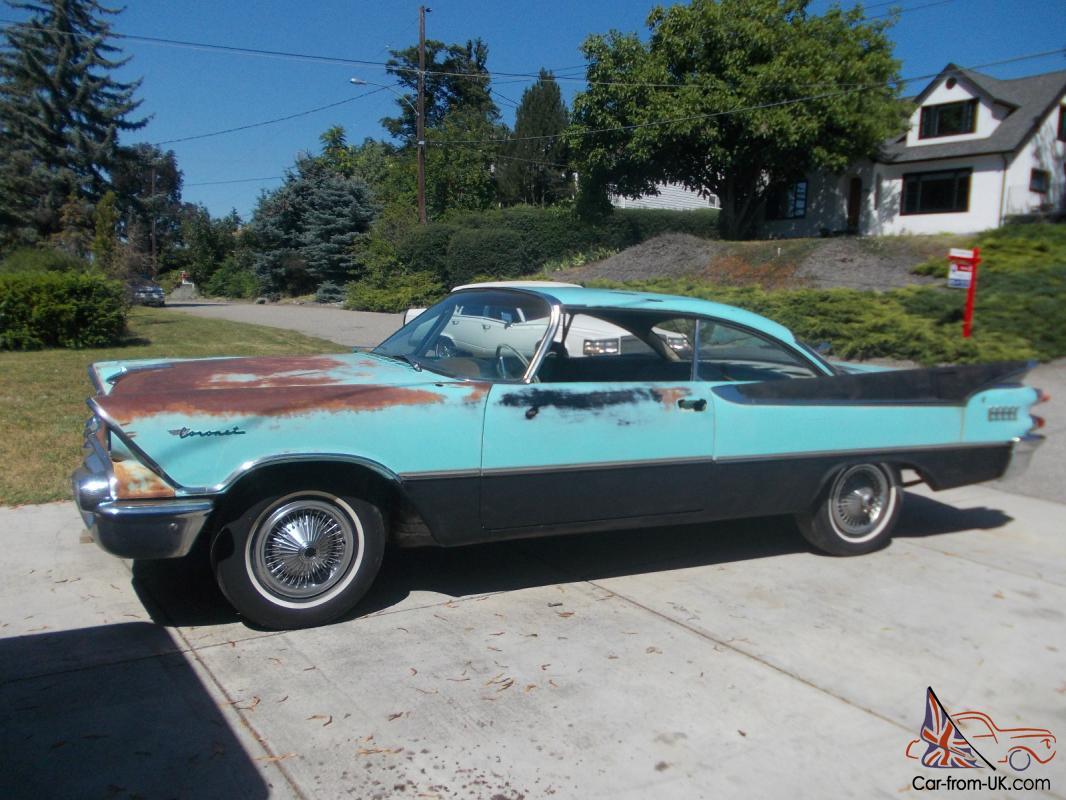 1959 Dodge Coronet rust free