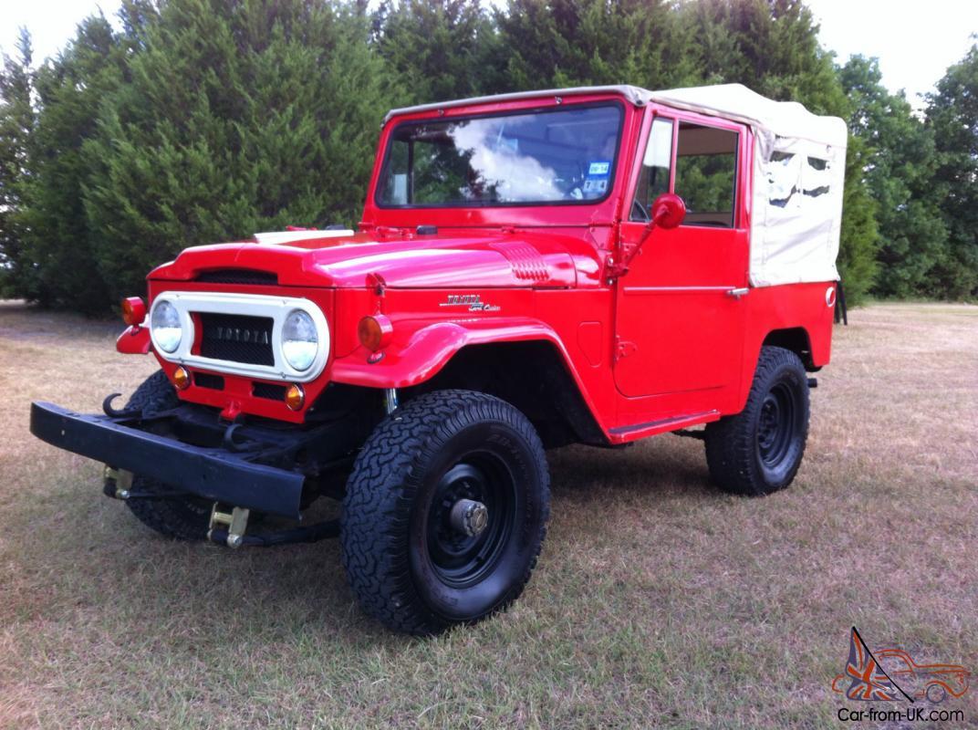 1967 Toyota Land Cruiser FJ40 Factory Soft Top Original Daily Driver  Restoration