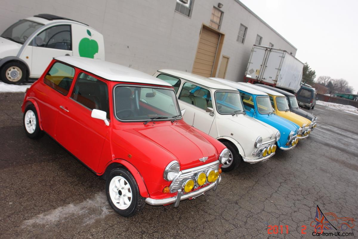 Mini Cooper Usa >> Custom Built Mini Cooper To Your Spec Ext Int Colors Rustfree Shell Ac Usa Legal