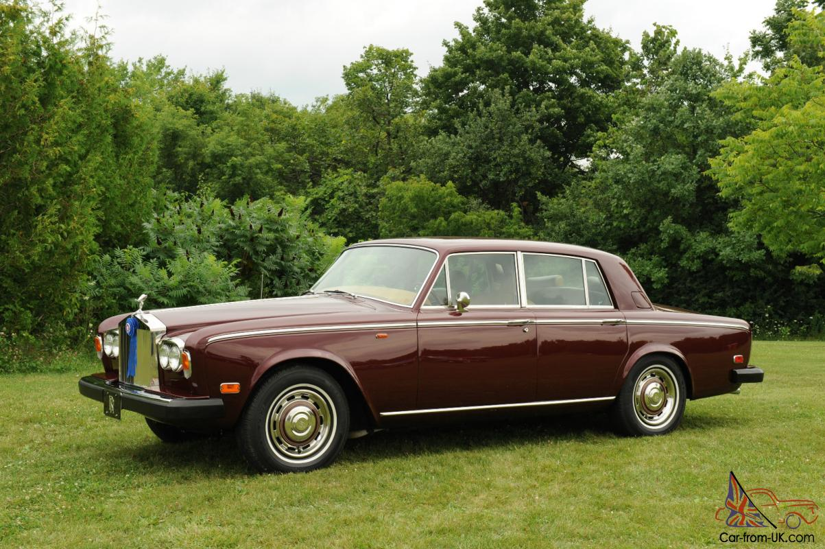 1976 Rolls Royce Silver Shadow Sedan Saloon Award Winning