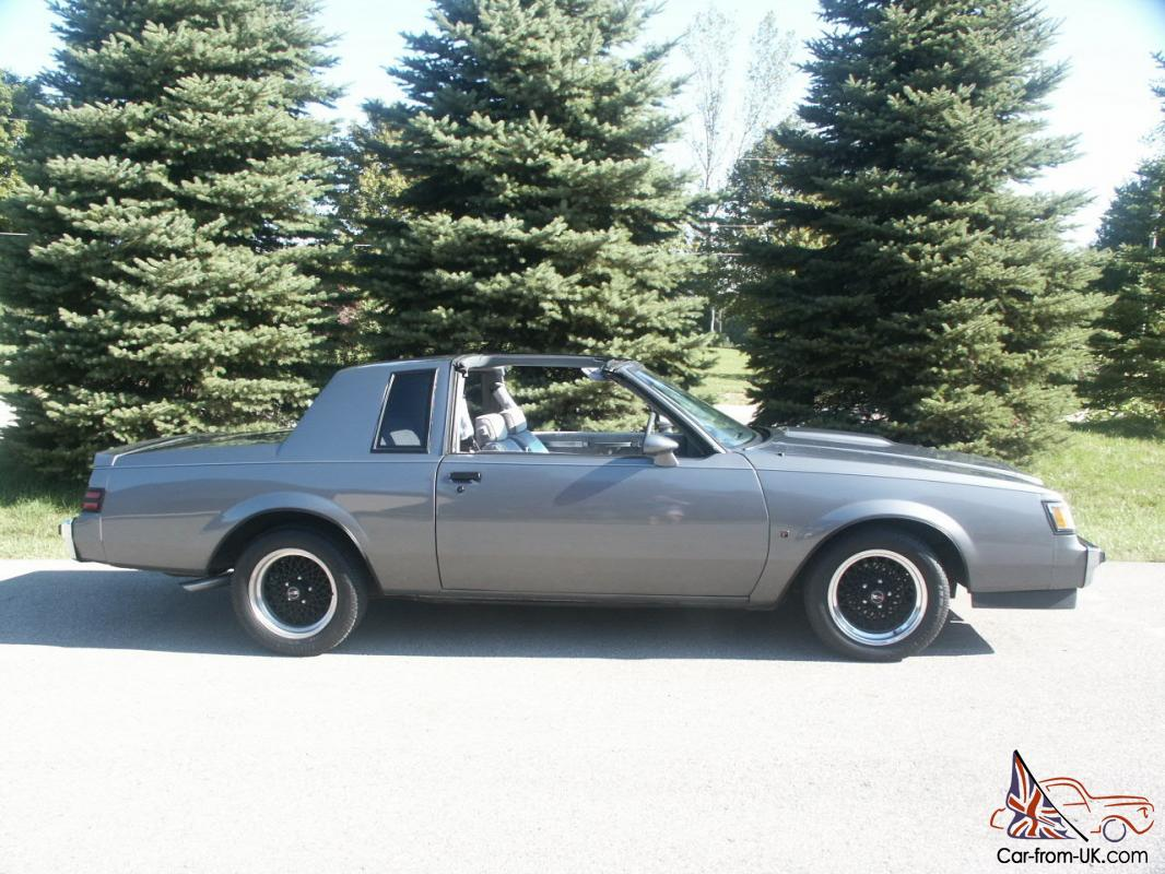 Buick Regal T Type >> 1987 Buick Regal T Type Coupe 3 8l Turbo Same As Grand National