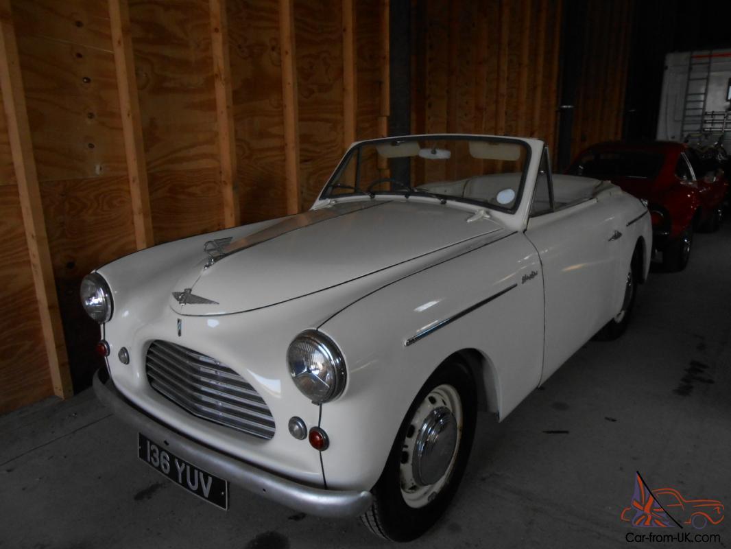 VERY RARE 1952 JENSEN BODY AUSTIN A40 SPORTS CONVERTIBLE ...