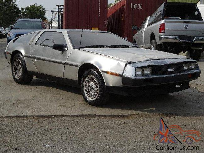 Delorean Car For Sale >> 1981 Delorean Dmc 12 Damaged Salvage Runs Rare Hard To Find Classic Wont Last