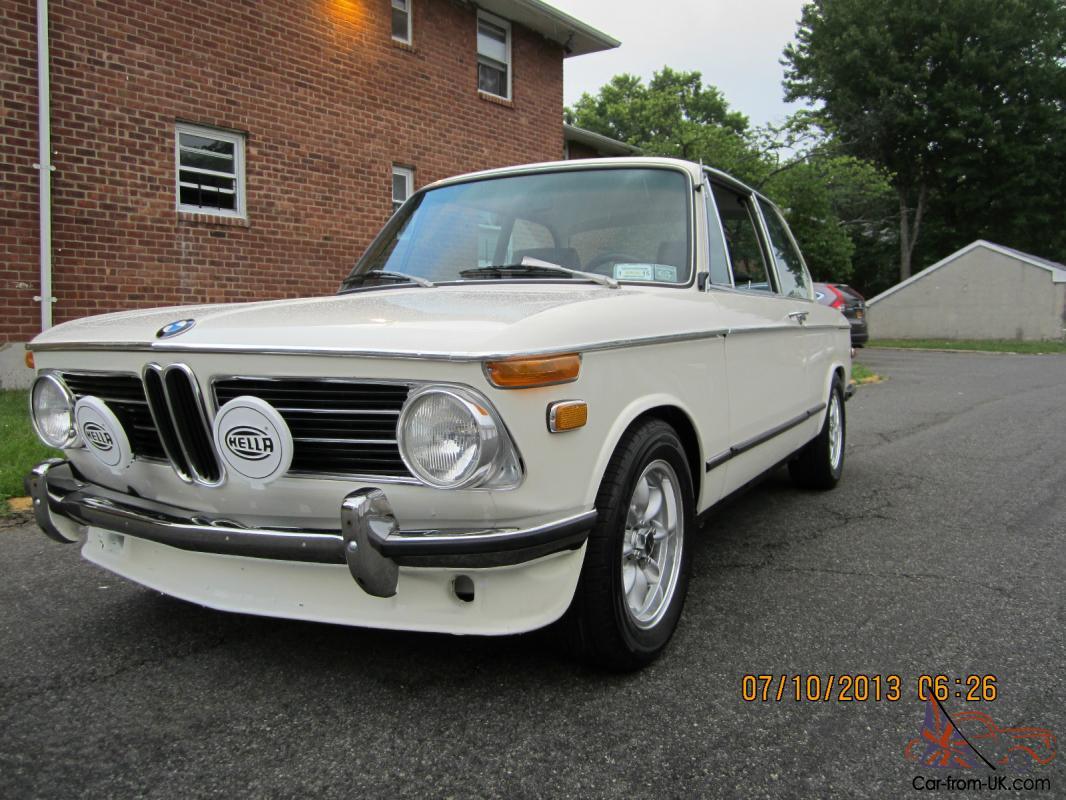 BMW 2002 For Sale >> 1971 Bmw 2002 Roundie 4 Speed