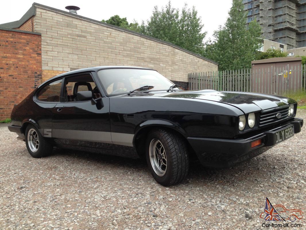 Ford Capri 3 0s Black Svo