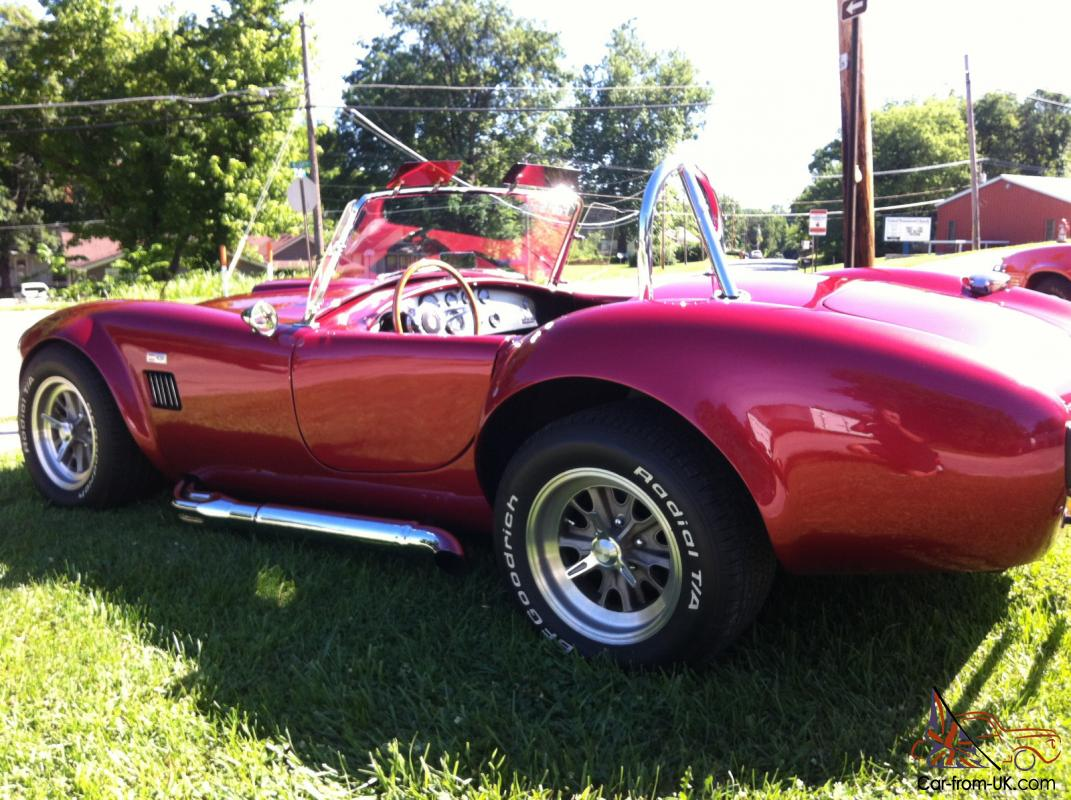 1965 Ford SC 427 Shelby AC Cobra Replica with 2000 Miles Build Sheet  Motorsports