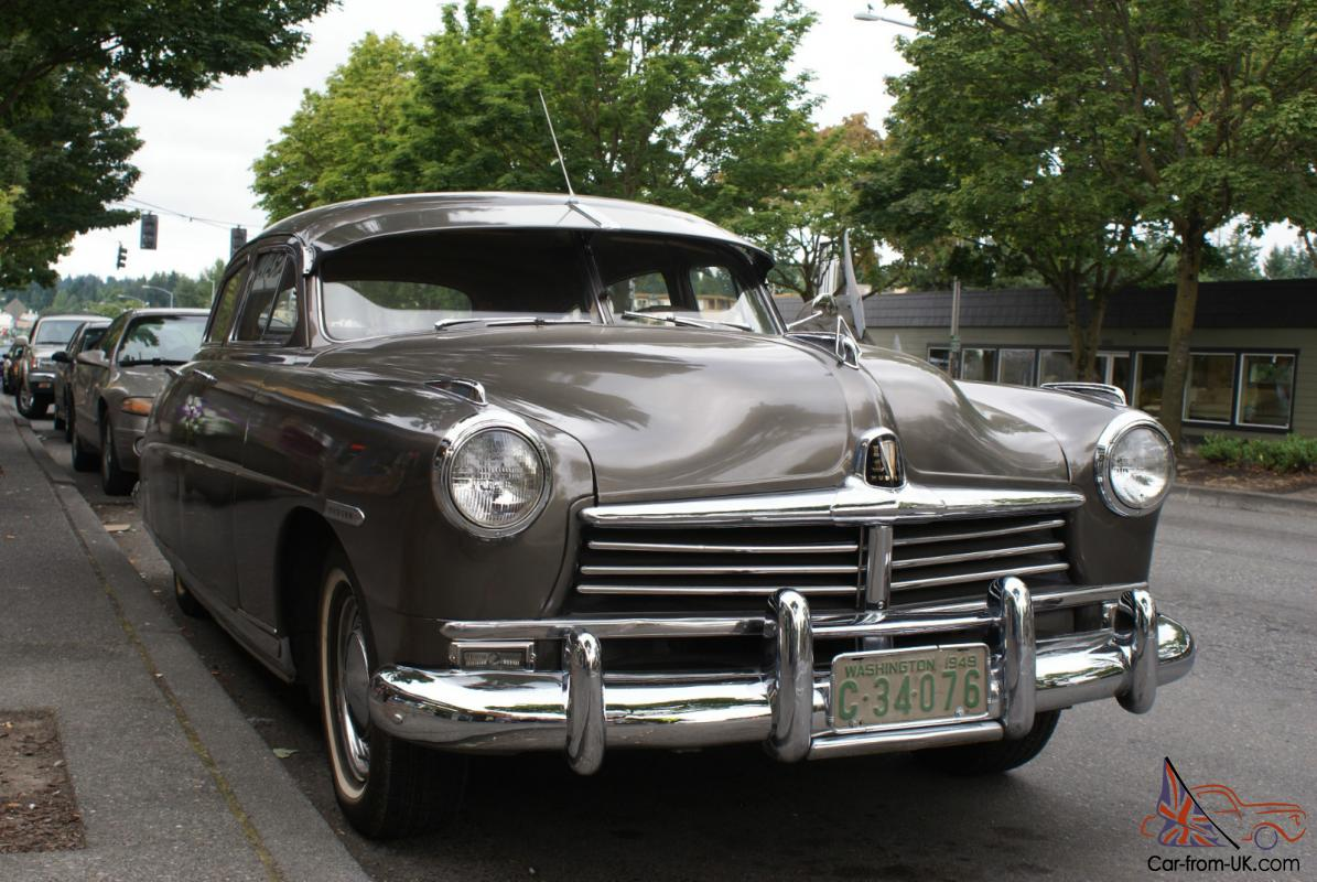 1949 Hudson Commodore Sedan