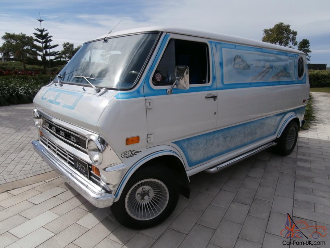 Custom Vans For Sale >> 1972 Ford Econoline Custom Van In Moreton Qld