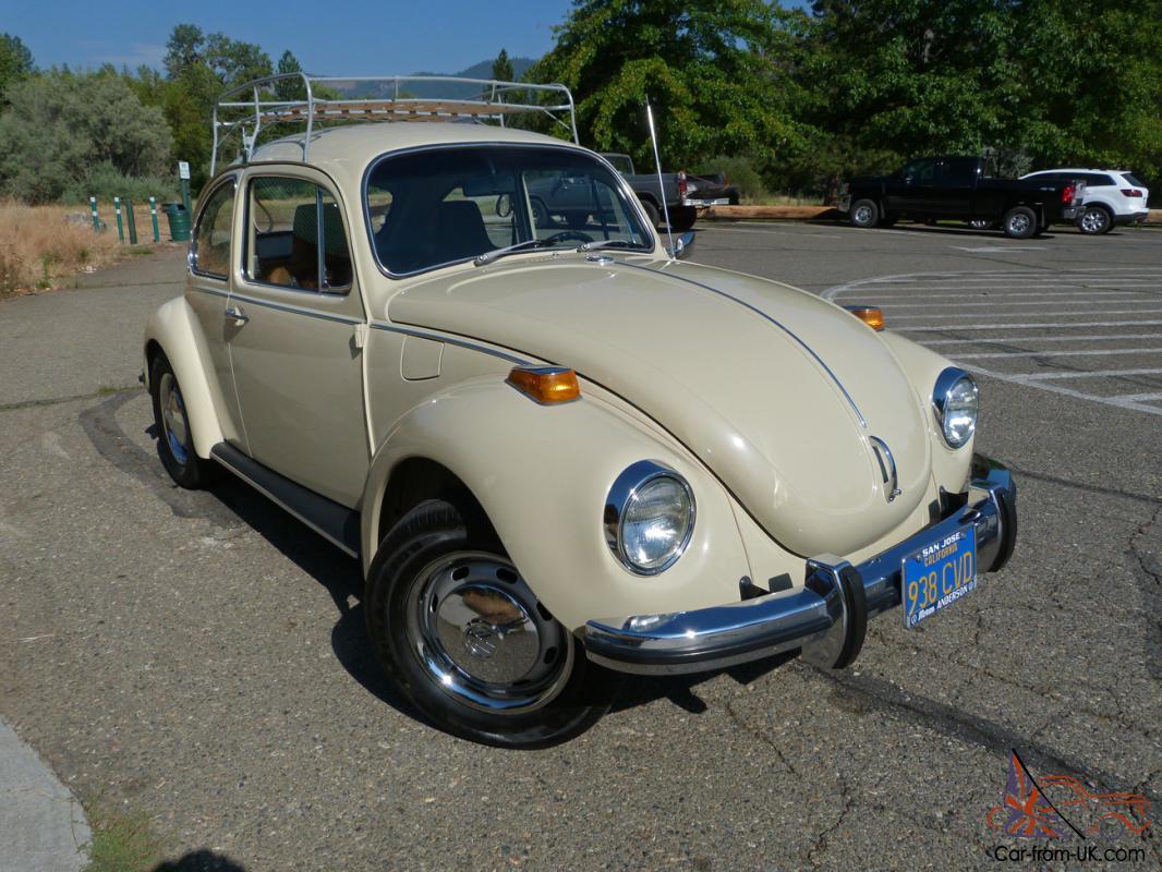 1971 Volkswagen Super Beetle 1 6l