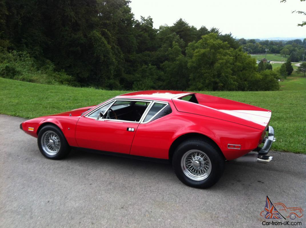 1974 Detomaso Pantera Base Coupe 2 Door 5 8l