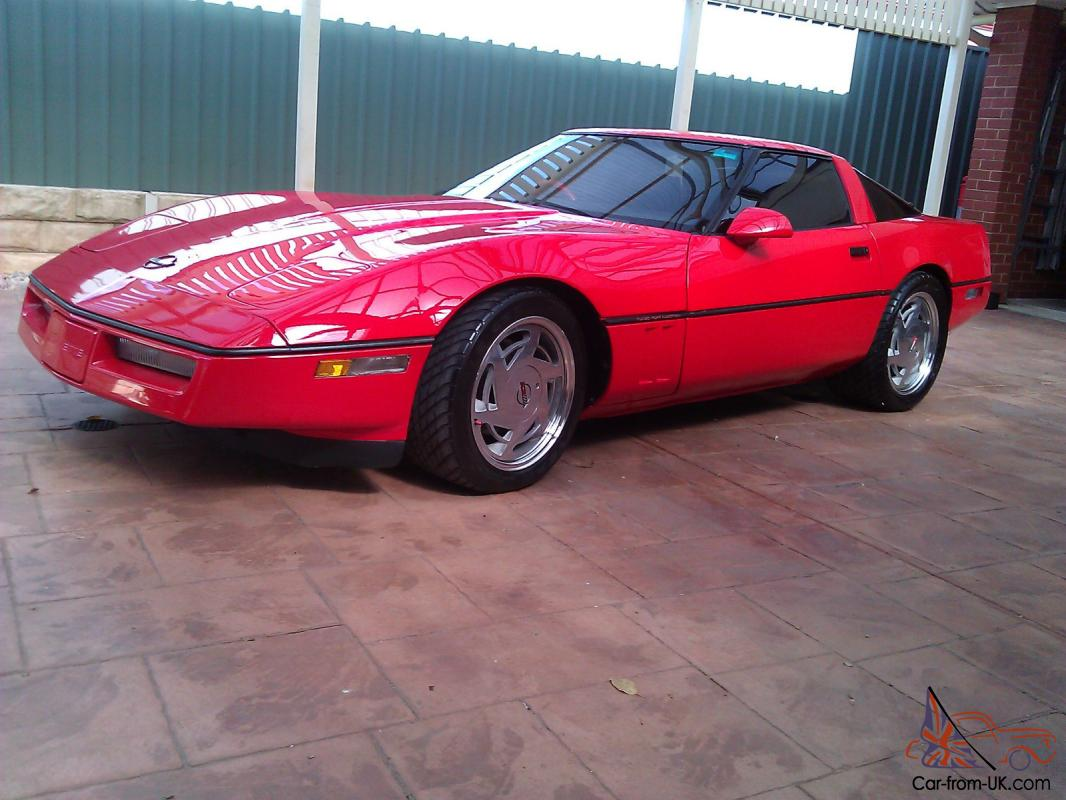 1989 C4 Chevrolet Corvette Coupe RED Classic Colectors CAR Show CAR Custom  in Adelaide, SA