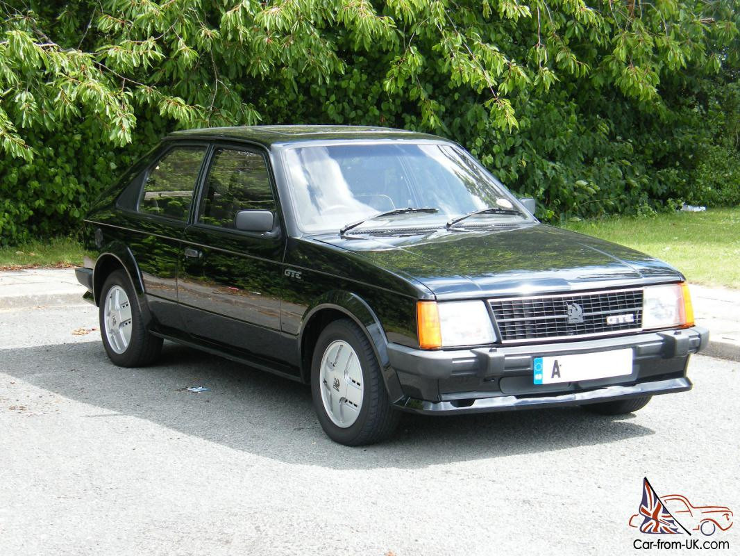VAUXHALL ASTRA MK1 GTE IN BLACK ONLY 74,725 MILES ...