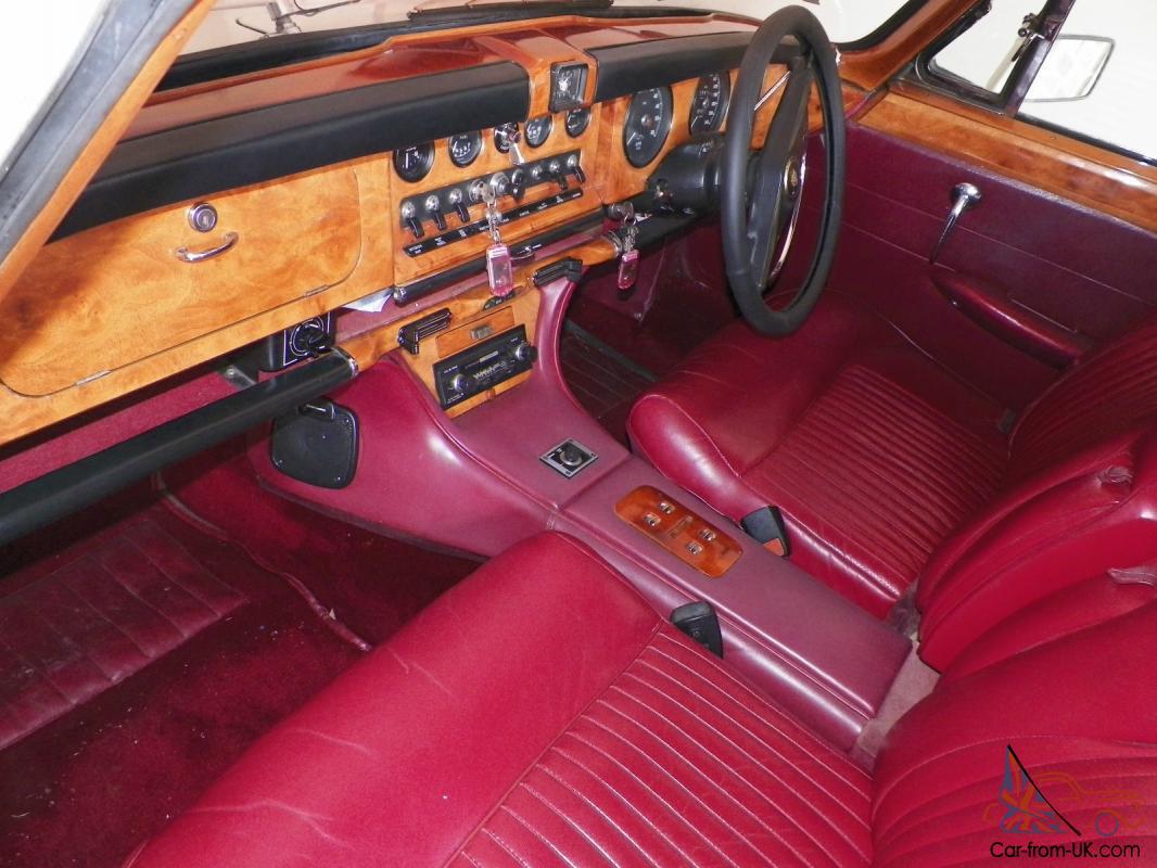 1970 Jaguar 420G Sedan 3 SP Automatic