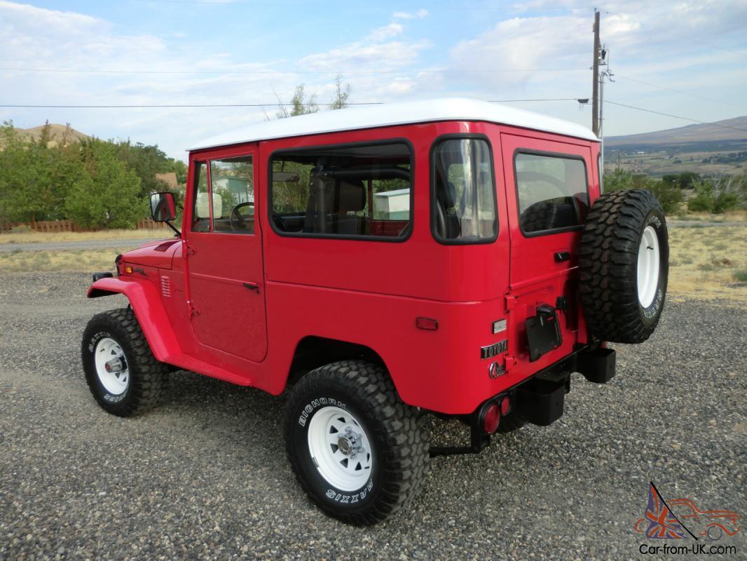 1972 Toyota Land Cruiser FJ40 Show Quality Restoration Brand New Build FJ 40